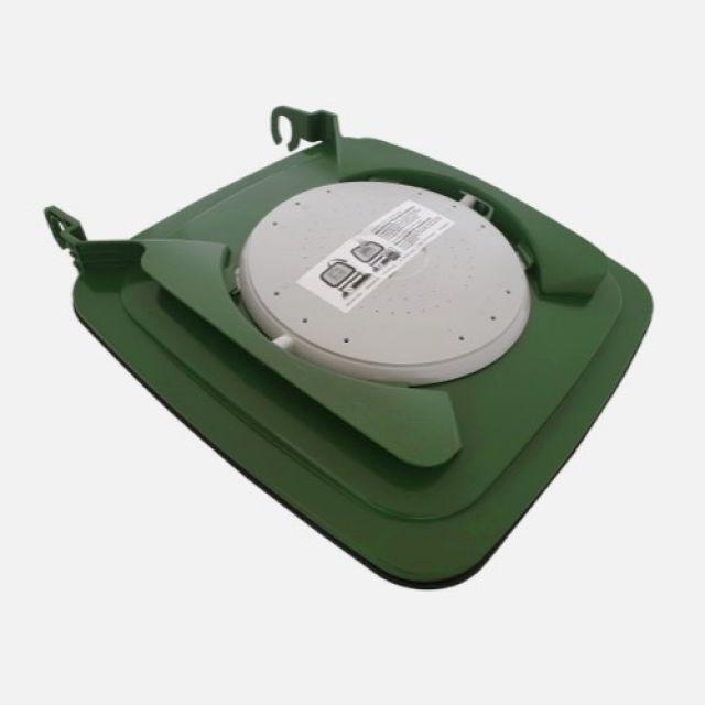 Clip-Bio-Filterdeckel für Speisereste-Tonnen