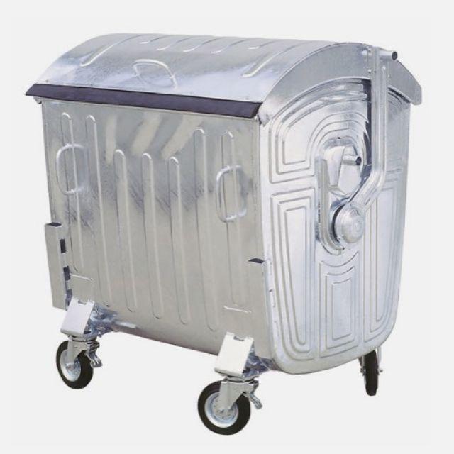 Müllgroßbehälter aus Stahl